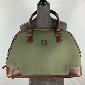DvF / Weekender Duffle Carry On Bag - Green